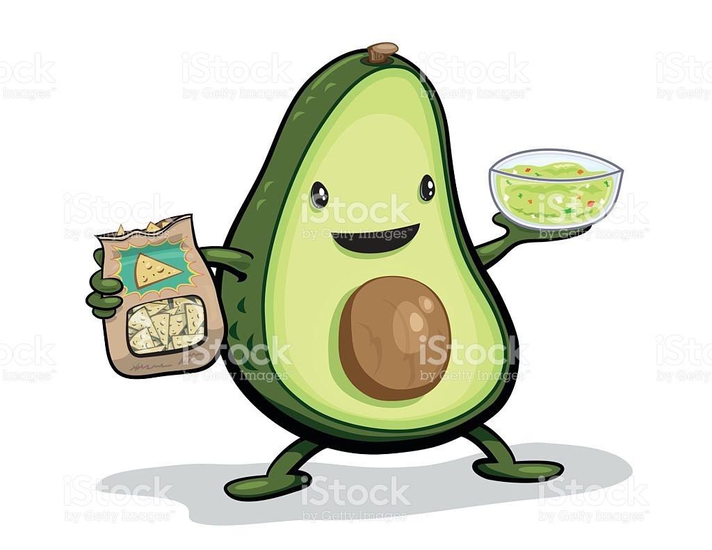 Avocado Dip Clip Art, Vector Images & Illustrations.
