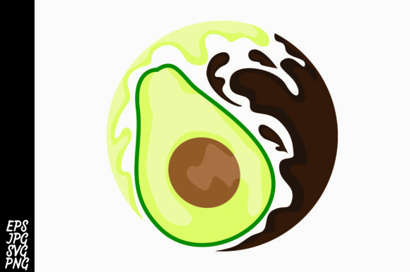 Chocolate Avocado Logo.
