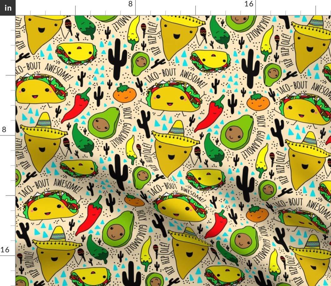 Amazon.com: Tacos + Burritos Fabric.