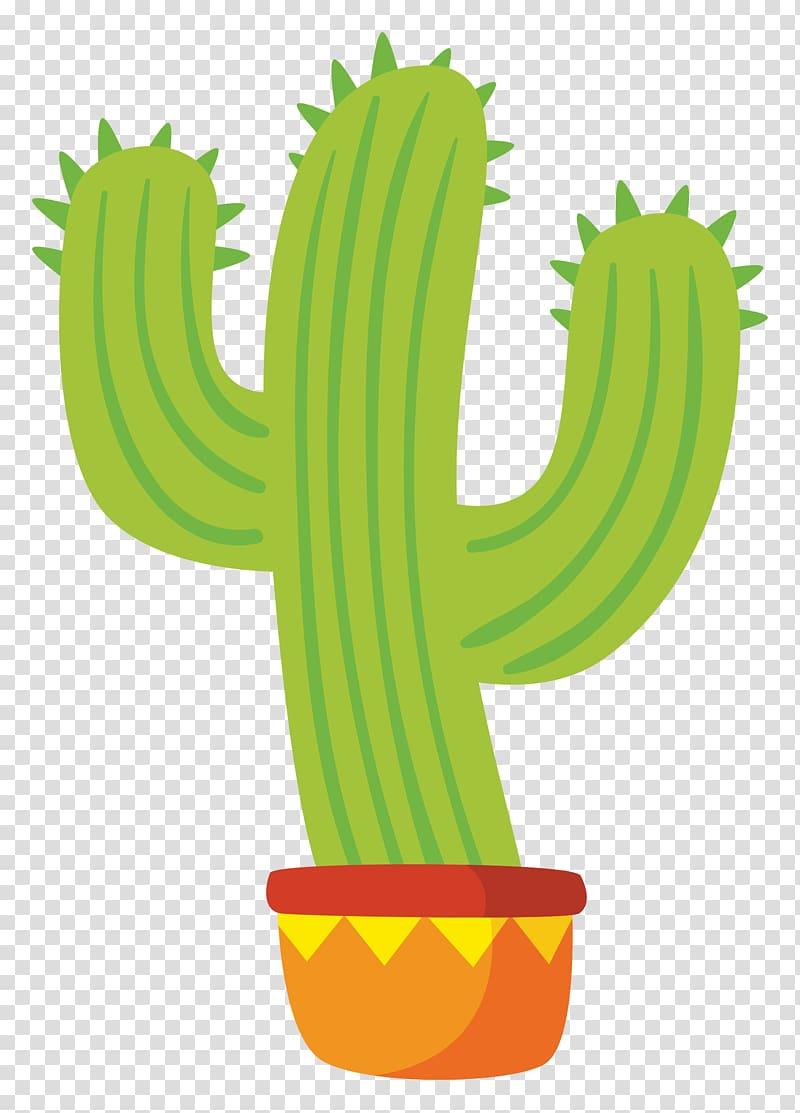 Cactus illustration, Mexico Mexican cuisine Chili con carne.