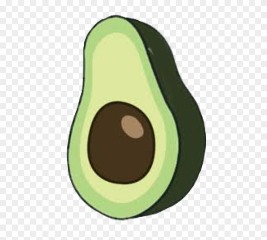 Aesthetic Avocado Png Clipart (#3208258).