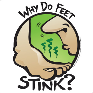 Why Do Feet Stink? (for Kids).
