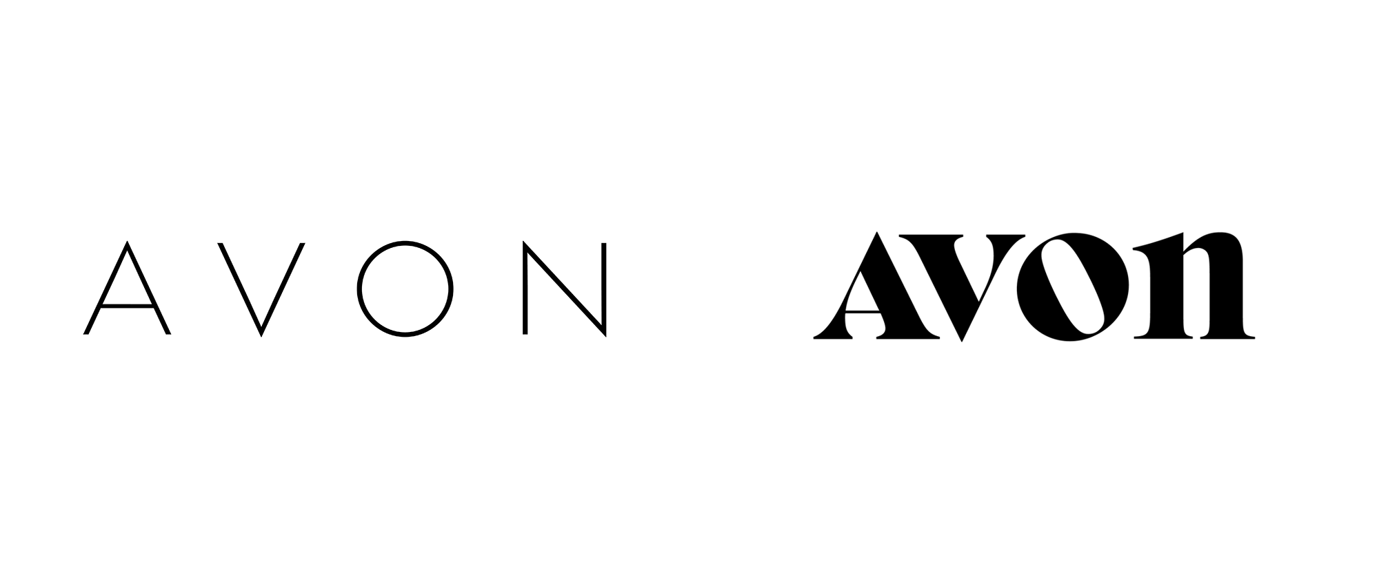 Brand New: New Logo for Avon by Standard Black.
