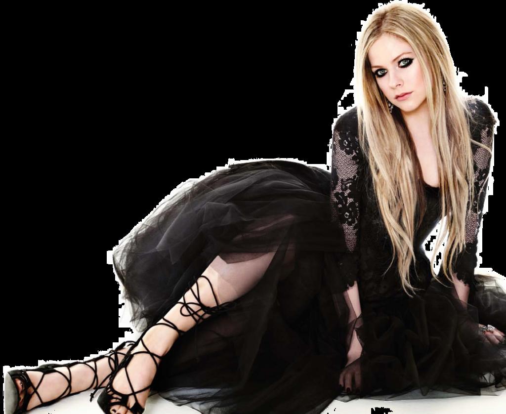 Avril Lavigne PNG Transparent.