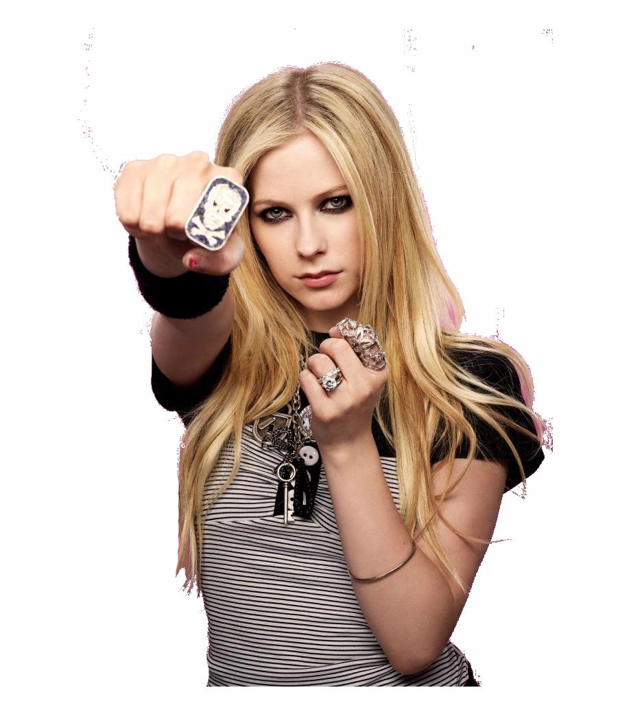 Avril Lavigne Png Image.