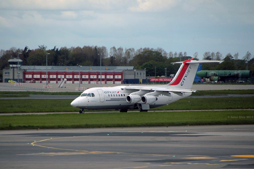 Air France CityJet Avro 85/ BAe 146 Regional Jet.
