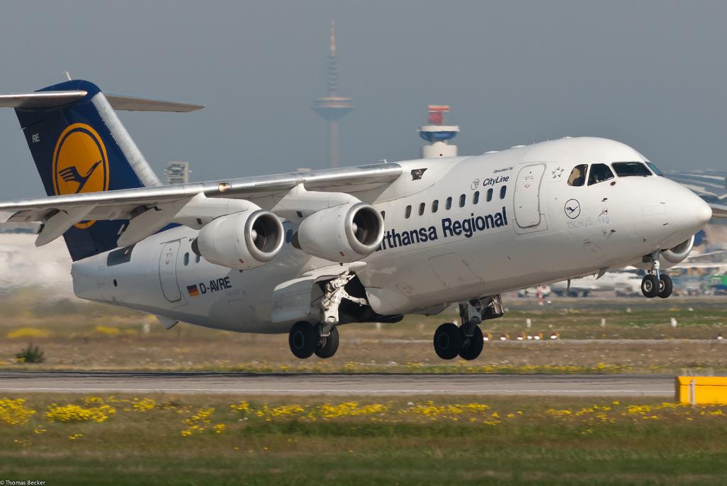 Lufthansa Regional (CityLine) Avro Regional Jet RJ85 D.