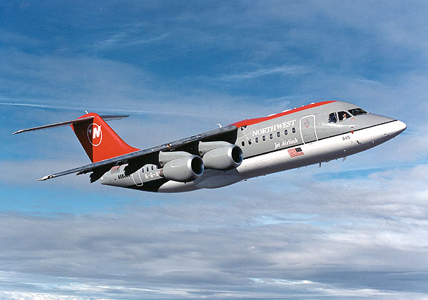 The Avro RJ regional jet family includes variants with 70, 85 or.