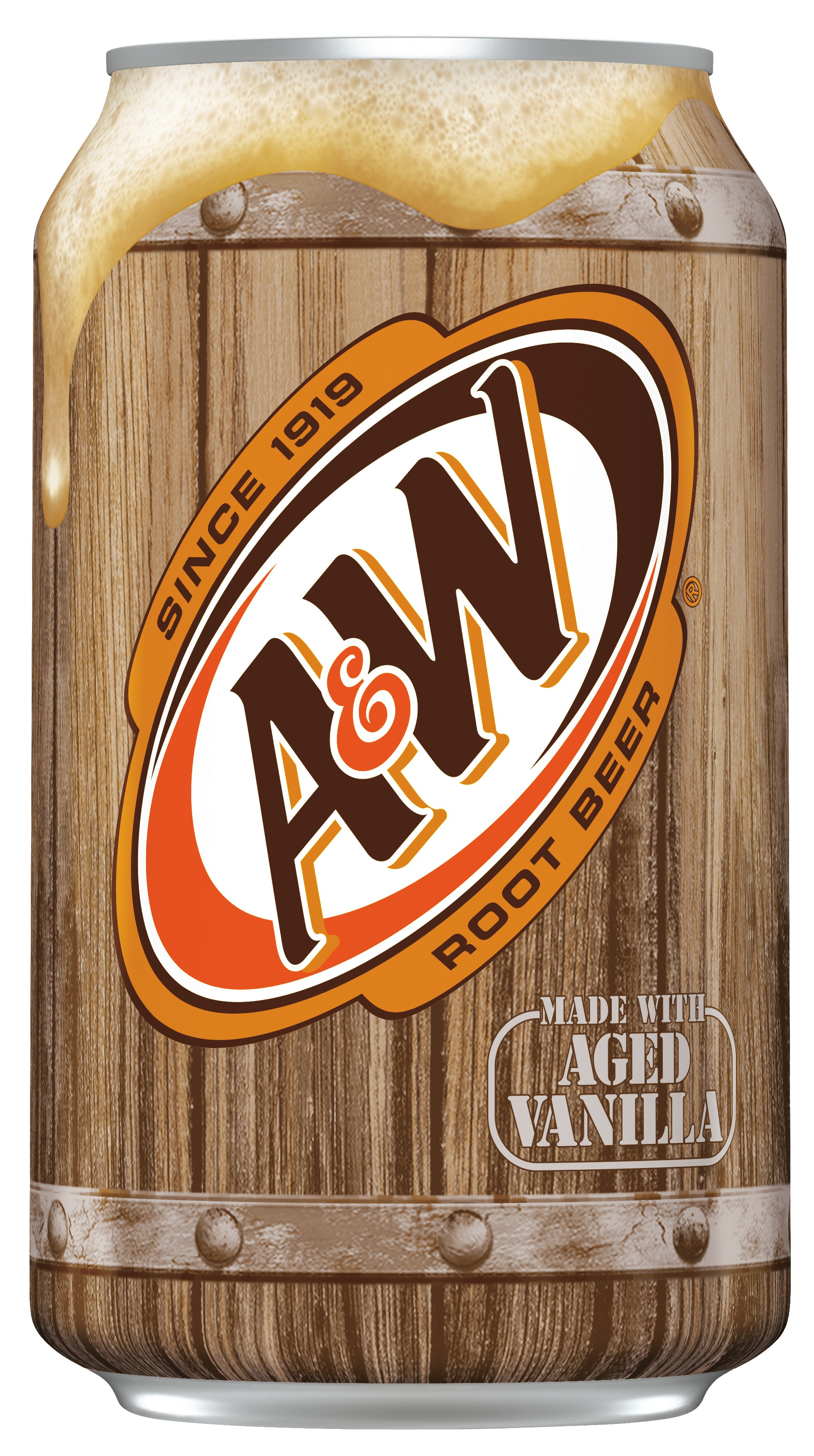 A&W Root Beer Cans 12 x 0,355 Liter.