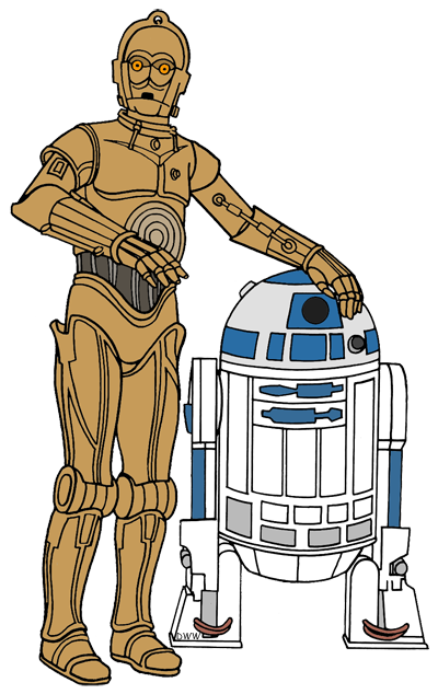 Star Wars: The Force Awakens Clip Art Images.