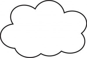 Awan clipart black and white 4 » Clipart Portal.