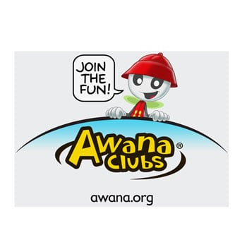 Awana Clubs Window Cling.