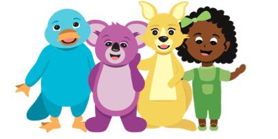 Puggles Characters.