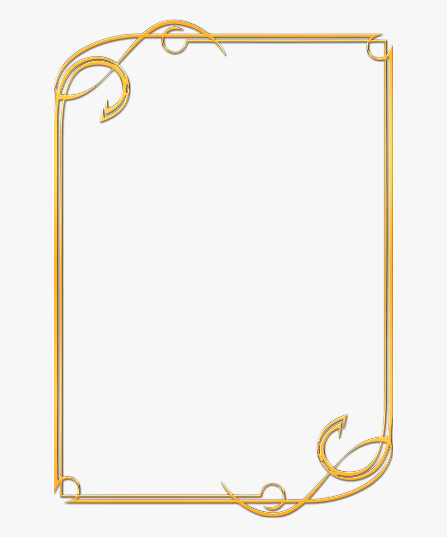 Gold Award Certificate Border Clipart , Png Download.