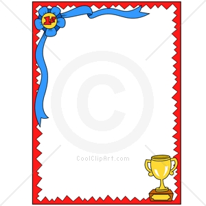 Award Border Clipart.