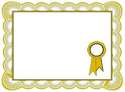 Examples Of Best Certificate: Best Certificate Border.