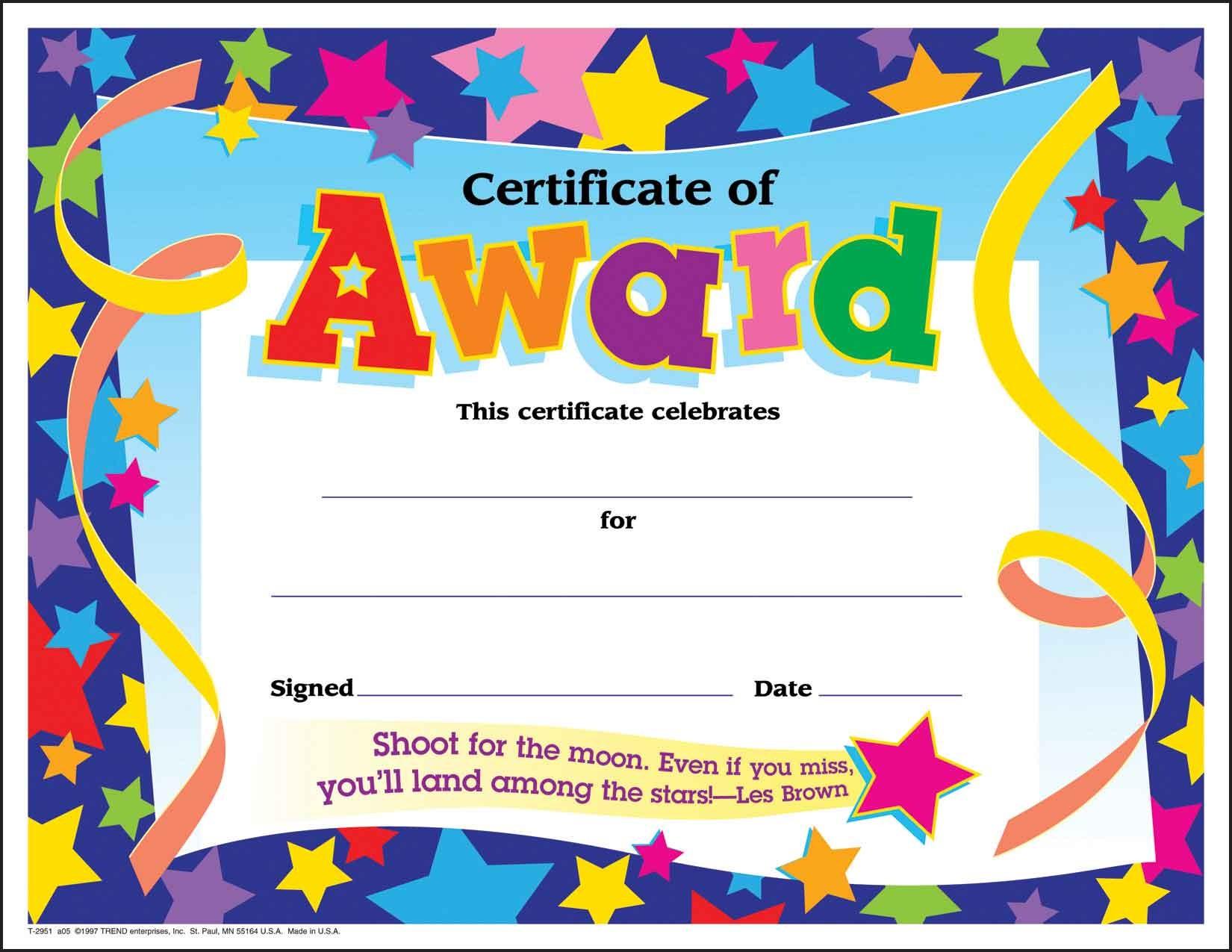 Congratulations Award Certificate Clipart.