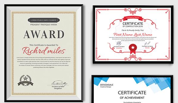 83+ Creative Custom Certificate Word, PSD, AI Design Templates.