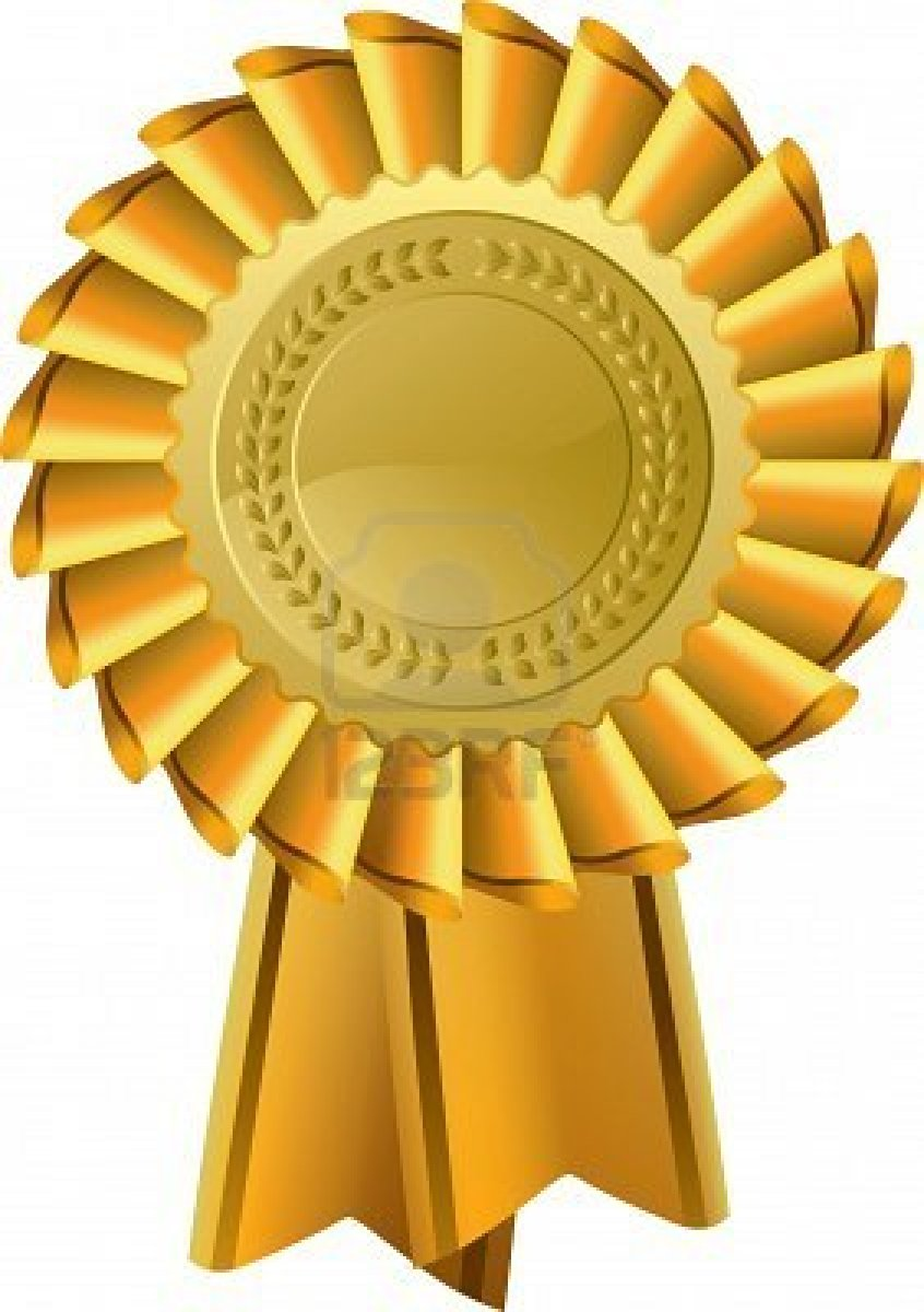 Gold Award Clipart.