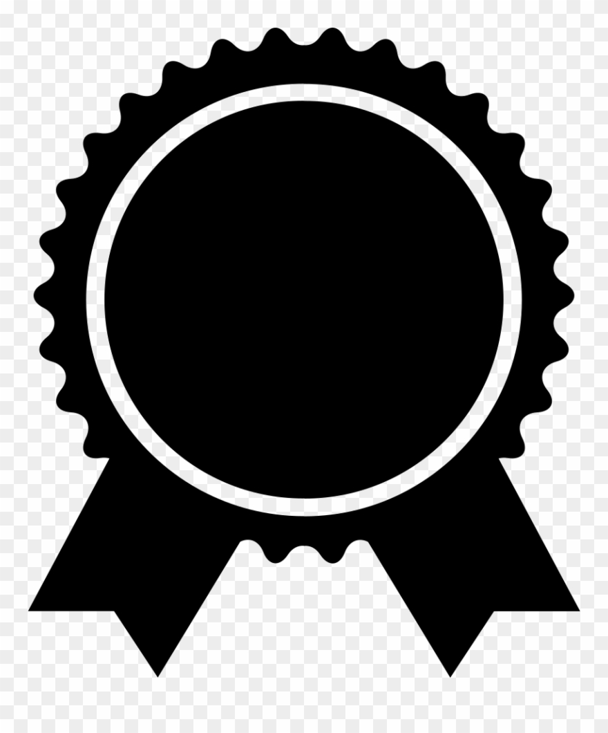 Badge Shapes Png Clip Art Black And White Download.