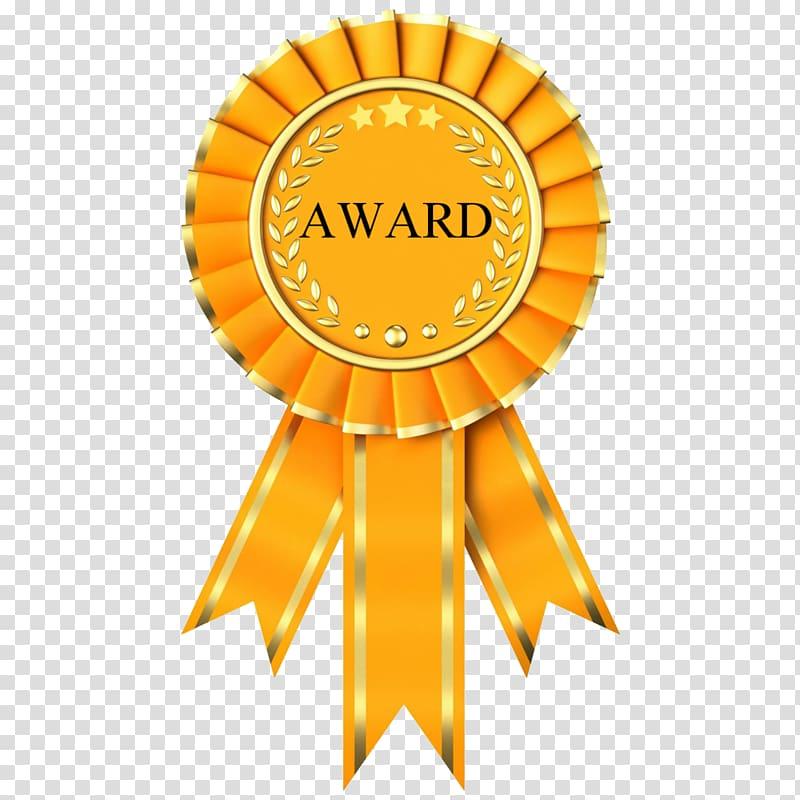 Award Trophy Rosette , Outstanding Performance transparent.