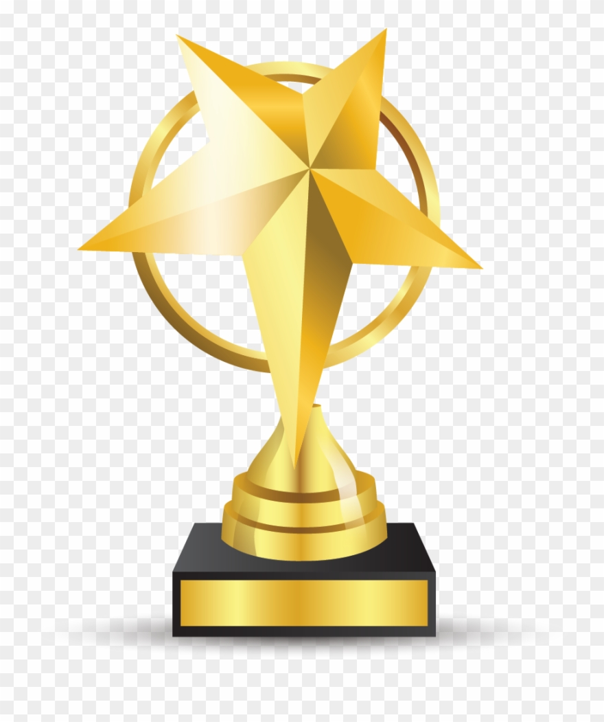 Clipart Books Trophy.