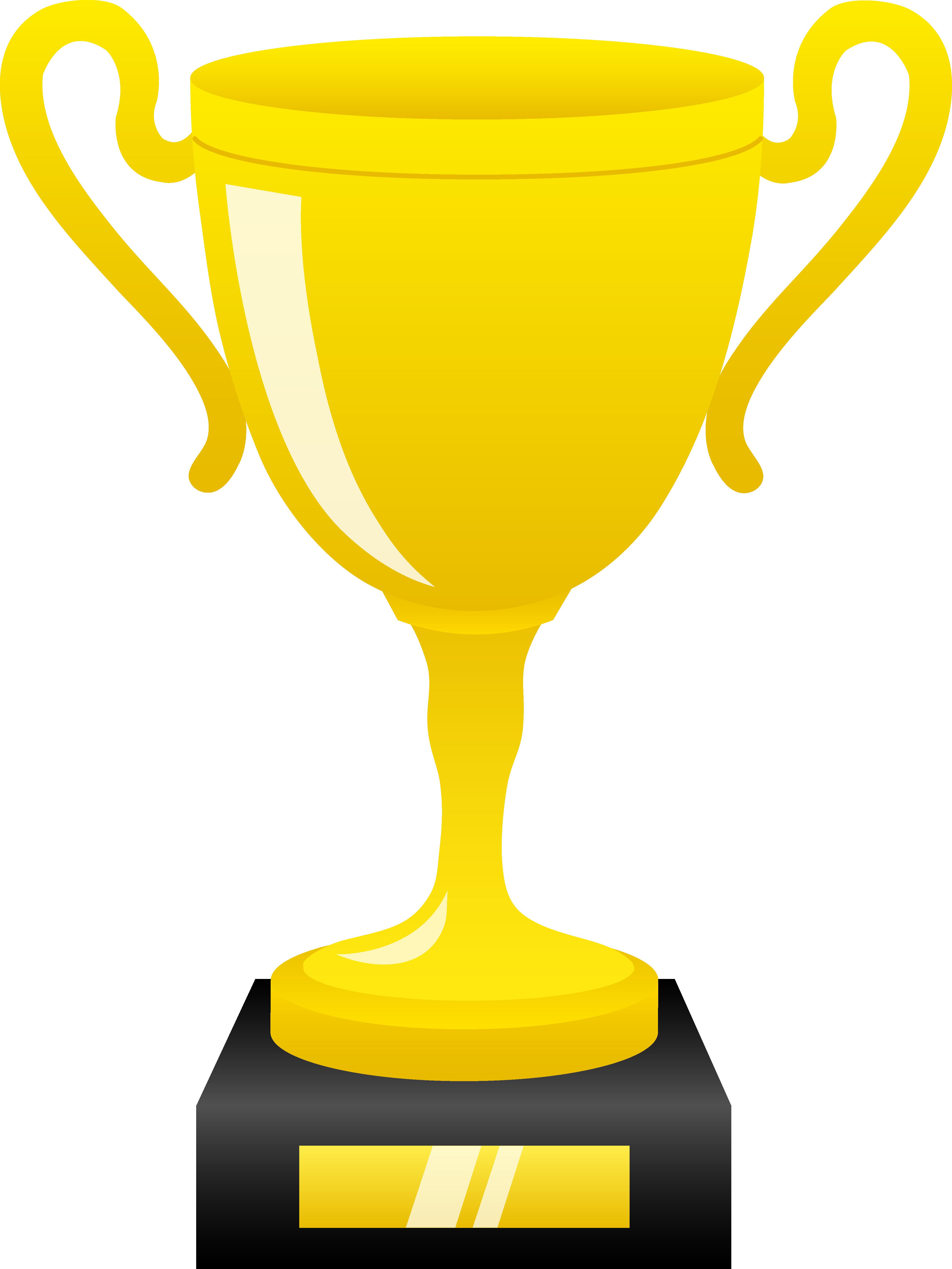 Trophy Free content Award Clip art.