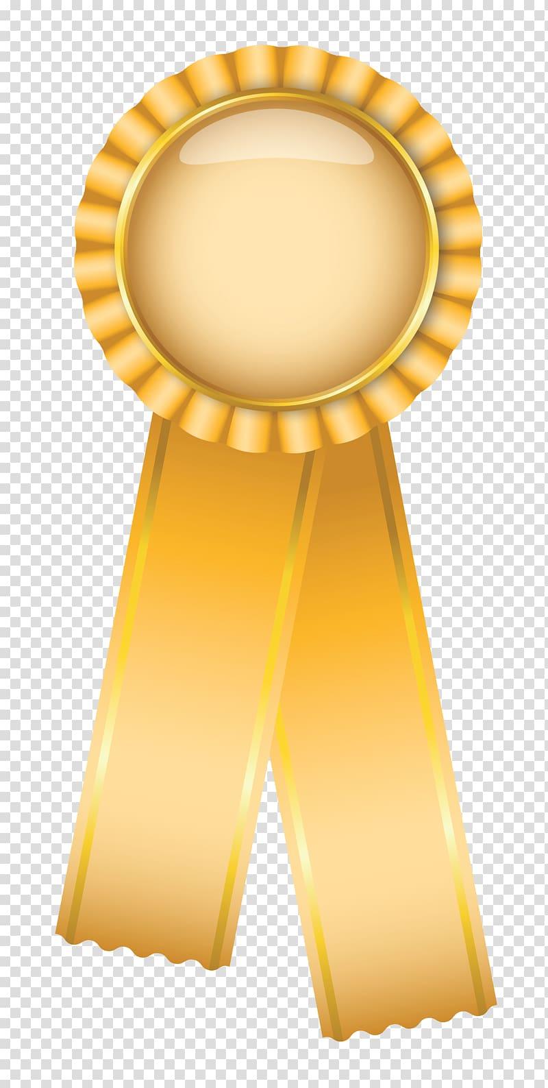 Rosette Blue ribbon , award transparent background PNG.