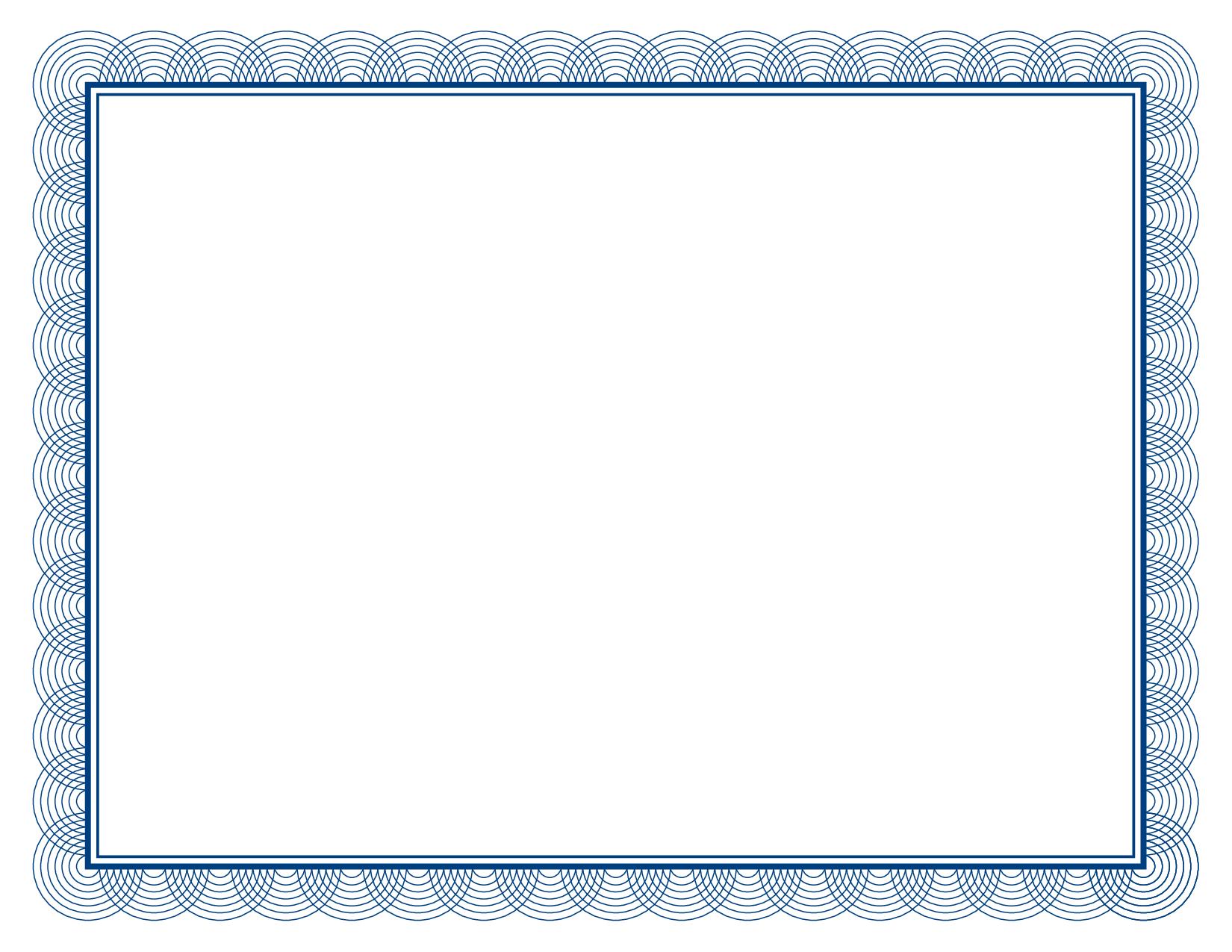 55+ Certificate Border Clip Art.