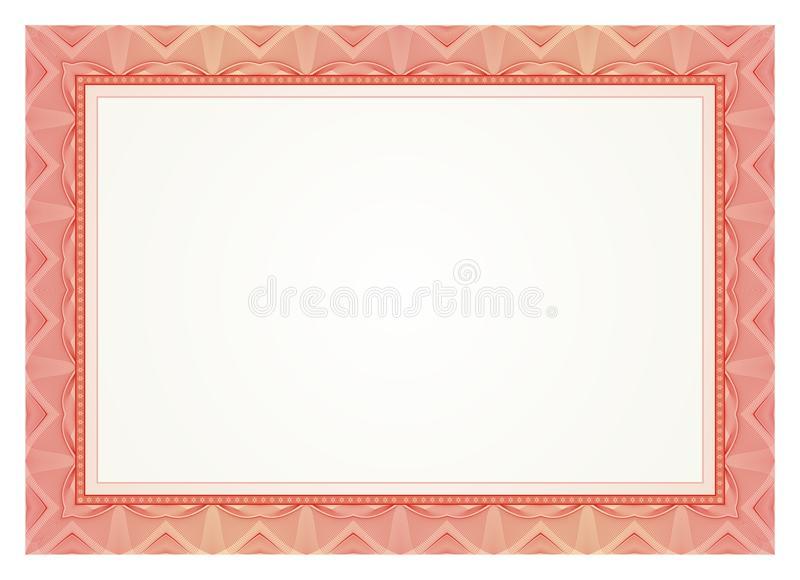 Certificate Frame Border Stock Illustrations.