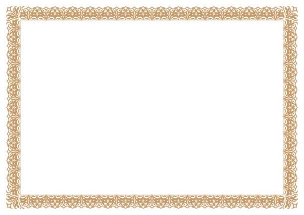 Best Certificate Border Illustrations, Royalty.