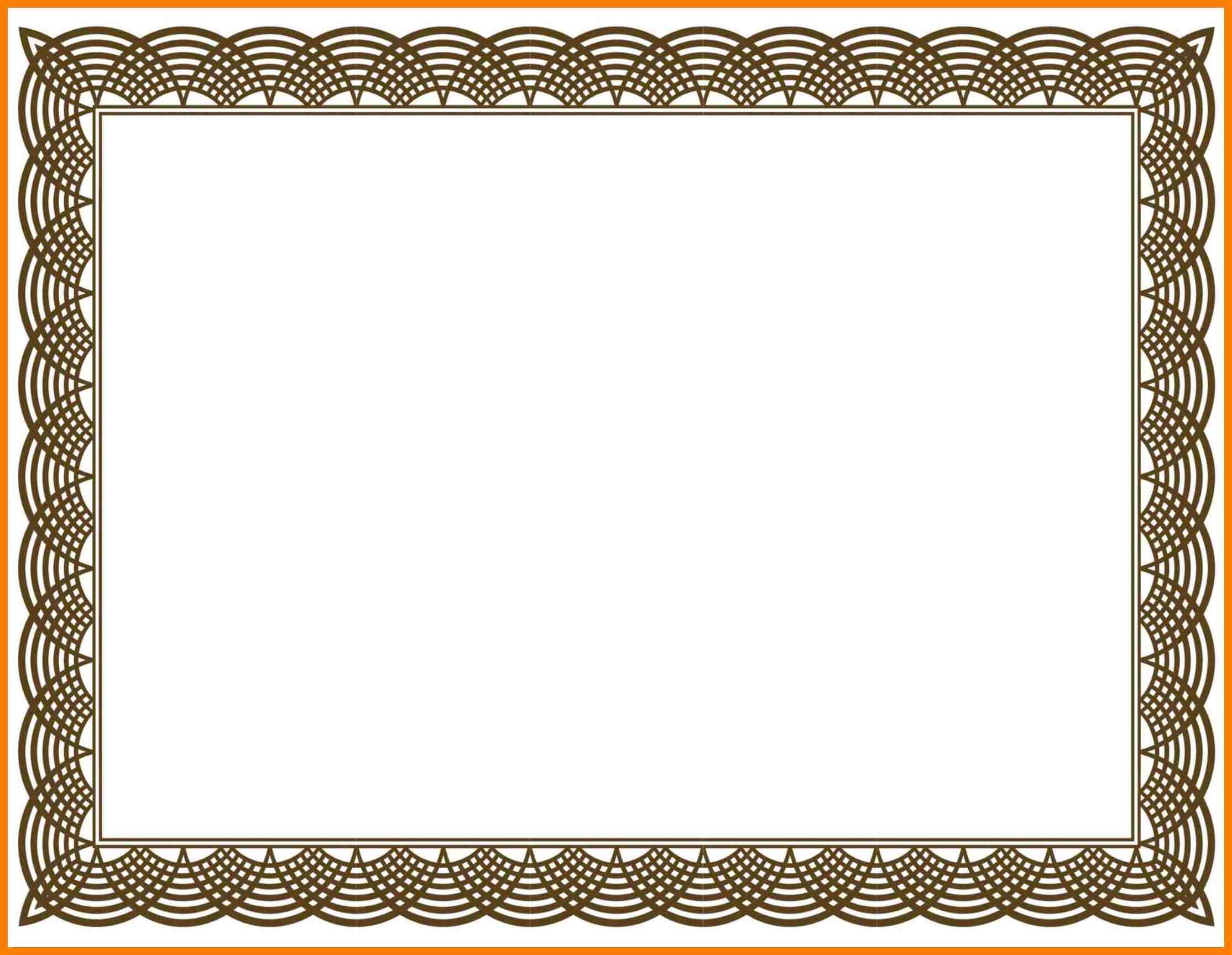Certificate Frame Clipart.