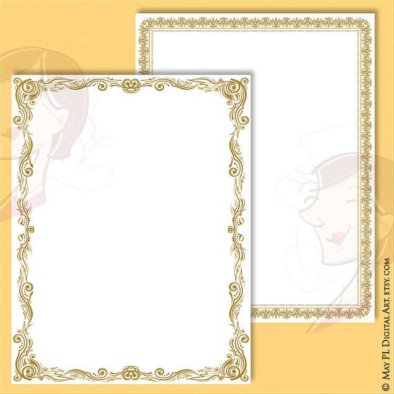 Certificate Borders Clipart.