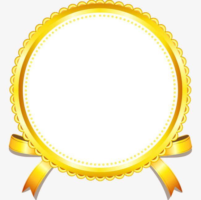 Golden Border PNG, Clipart, Award, Award Ribbon, Badge.