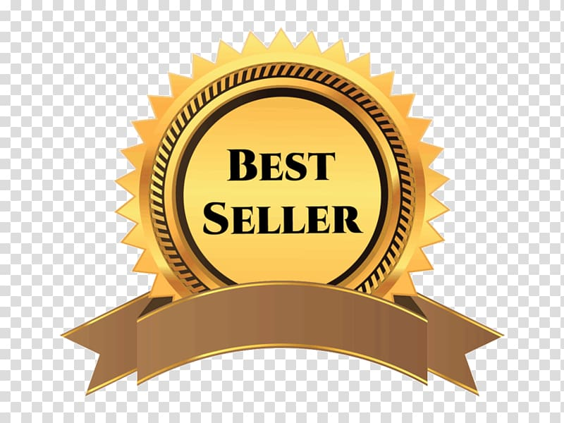 Best seller award logo, Ribbon Award Gold medal , best.