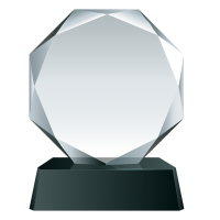 Glass Trophy Award PNG Image Free Download searchpng.com.