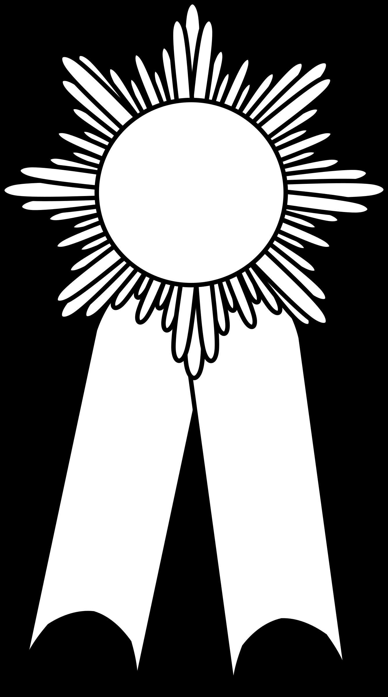 Award Ribbon Outline.