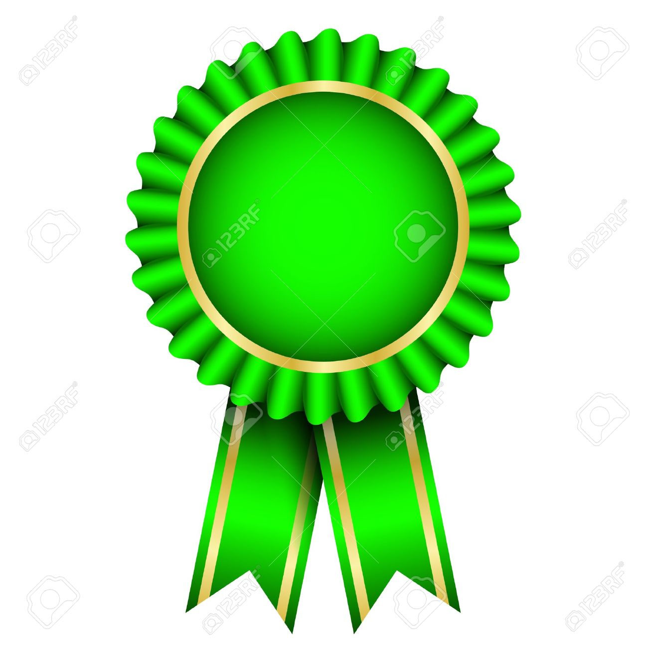 788 Award Ribbon free clipart.