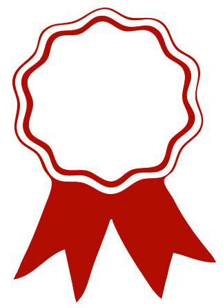 Library of red ribbon award vector download png files.