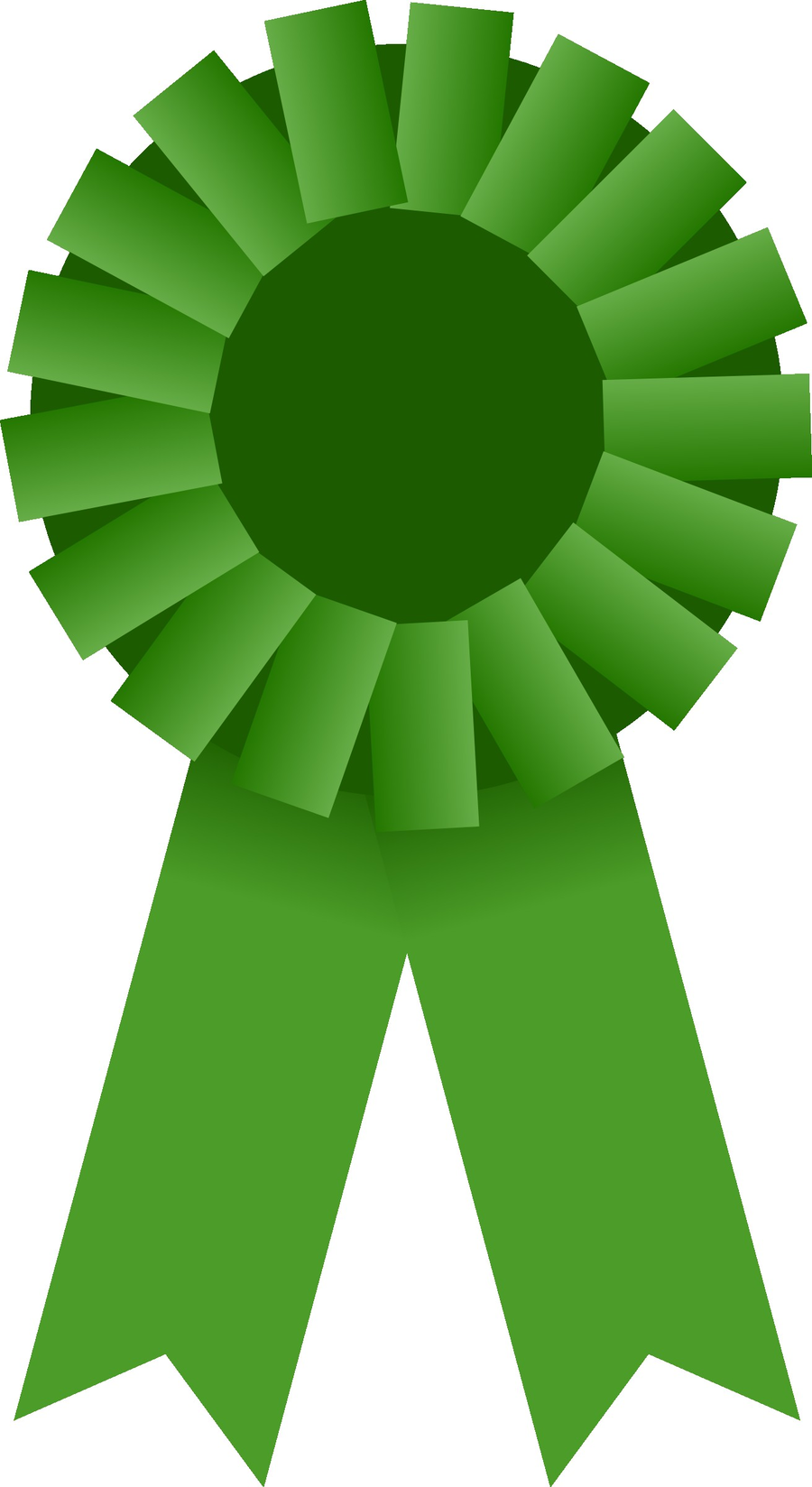 Green Background Ribbon clipart.