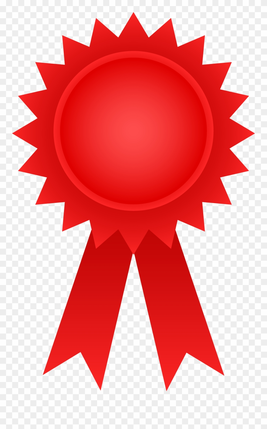 Red Award Ribbon.