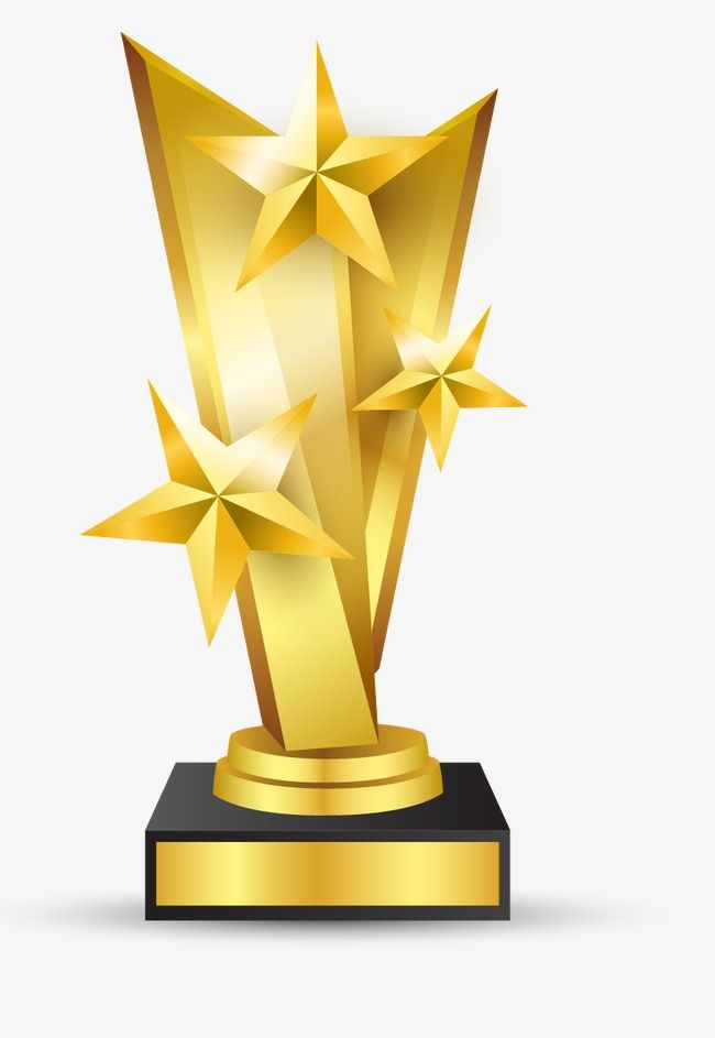 Gold Trophy, Trophies, Gold, Award PNG Transparent Image and.
