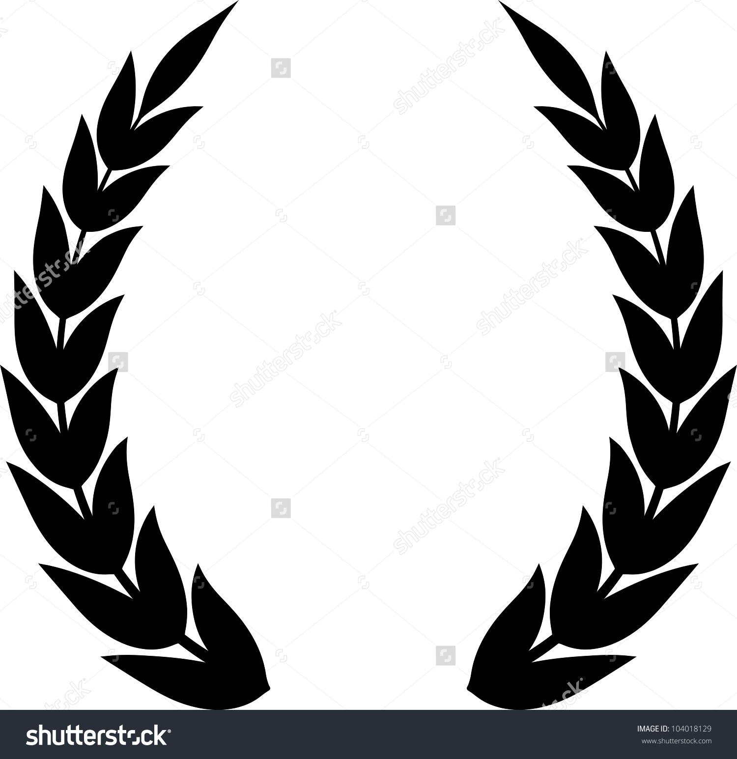 Award Wreath Clipart.