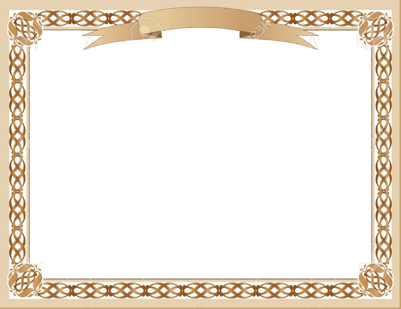 Blank Certificate Template for Best Solution.