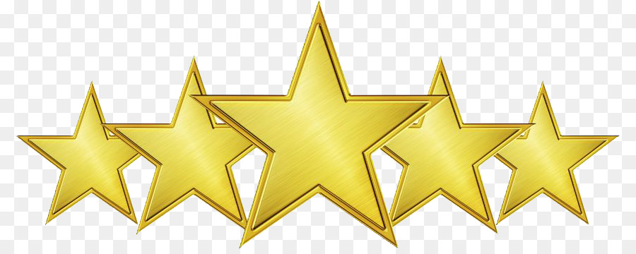 5 Star png download.