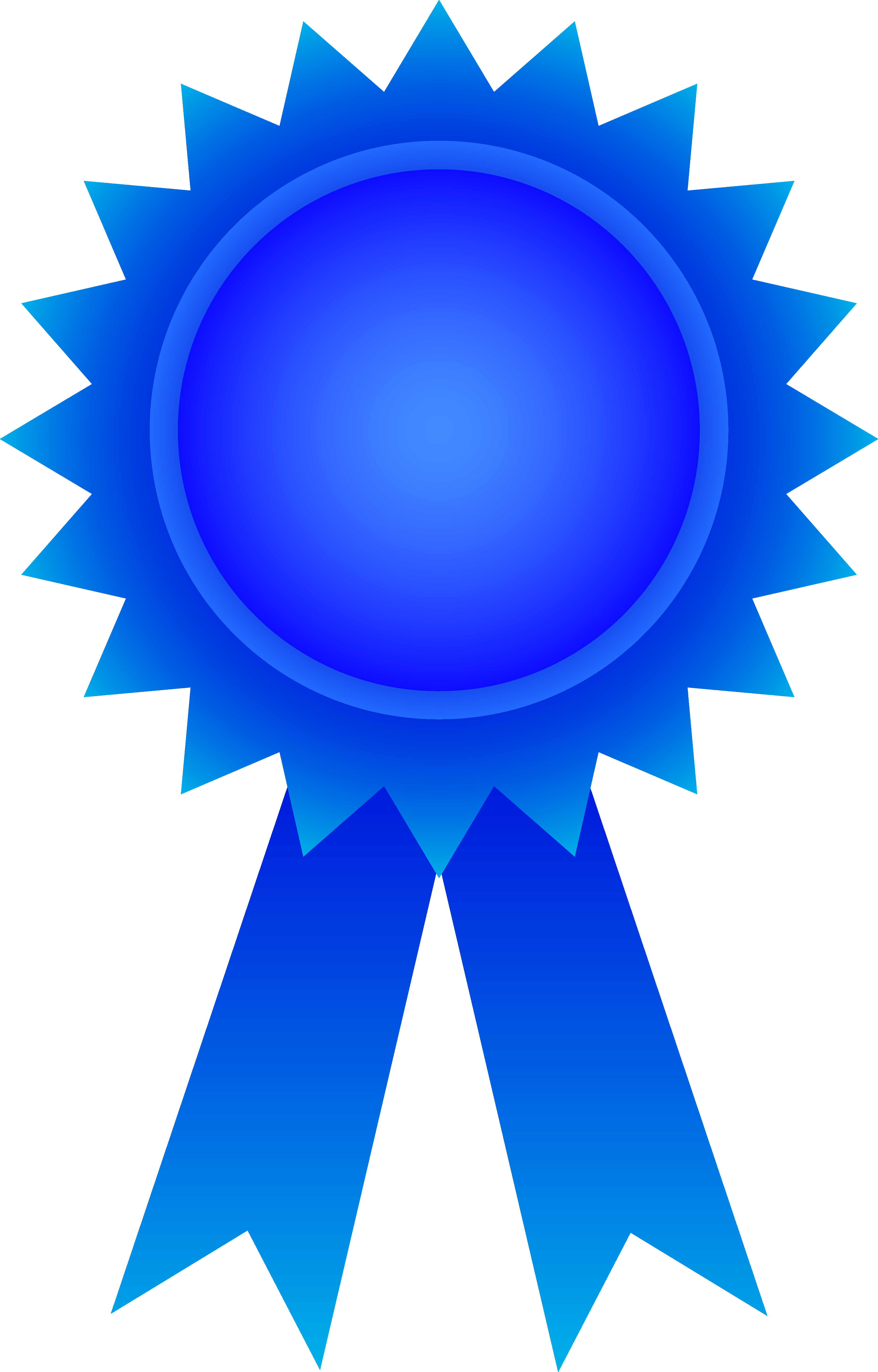 Ribbon awards clipart.