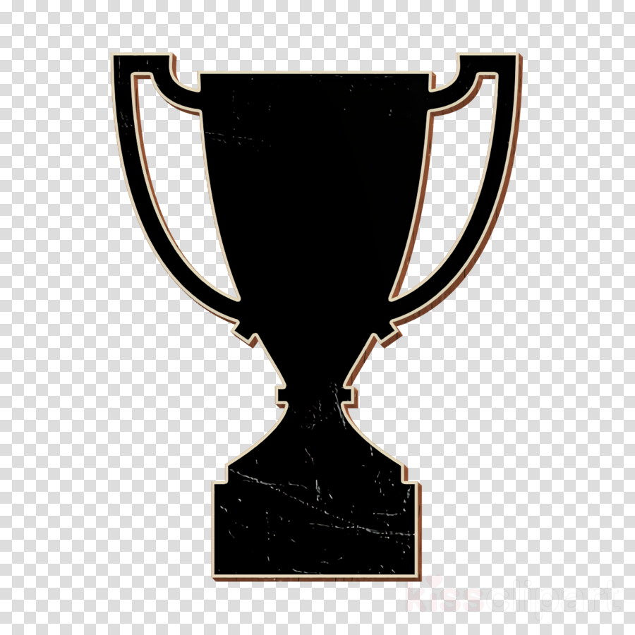 sports icon Awards icon Trophy shape icon clipart.