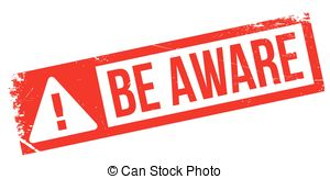 Be aware Stock Illustrations. 964 Be aware clip art images and.