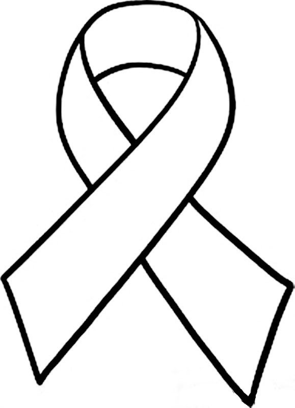 Cancer Awareness Ribbon Clipart.