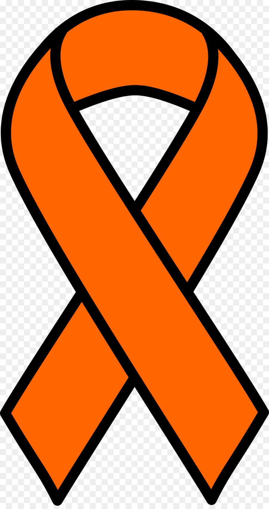 Fresh Orange Cancer Ribbon Clip Art Good Looking Yellow Transparent.